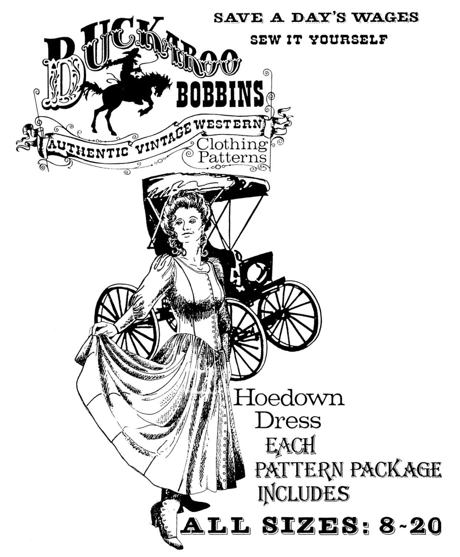 La S Hoedown Dress Sizes 8 20 Classic Western Style