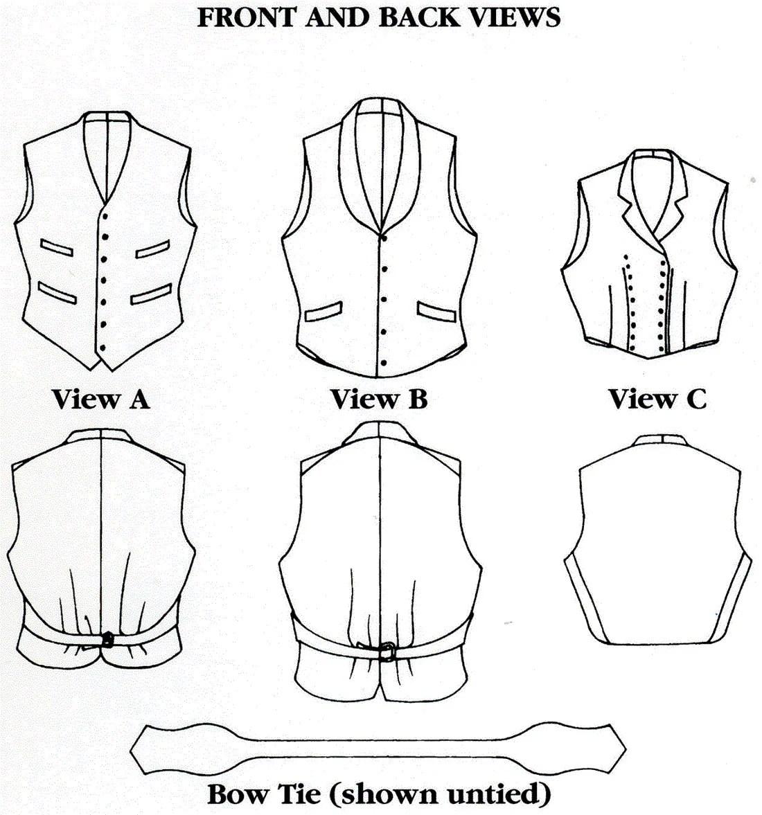 Folkwear Vintage Vests Amp Bow Tie
