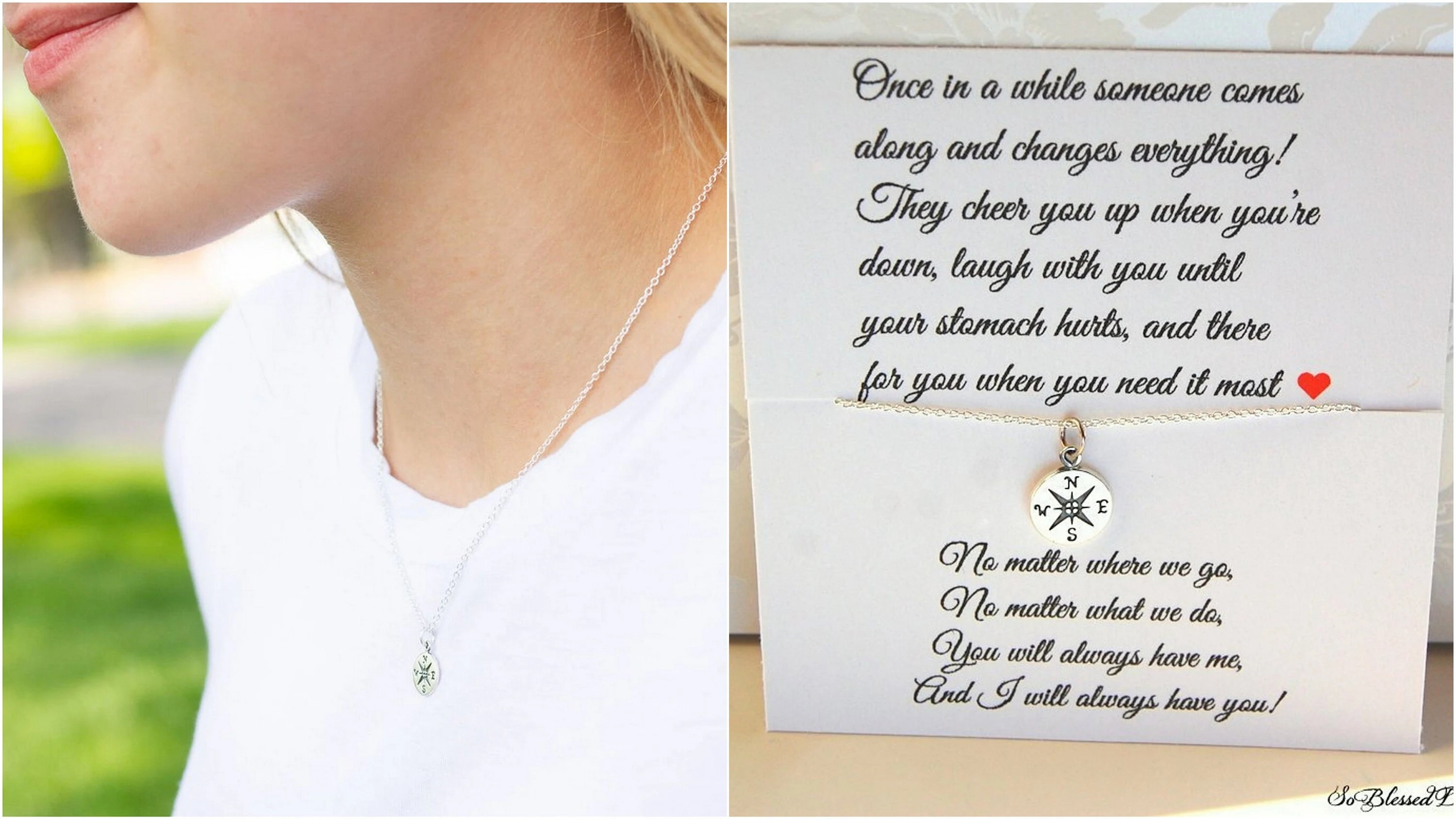 friendship necklace gifts for