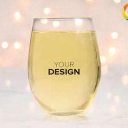 Wine Glass Mockup Etsy