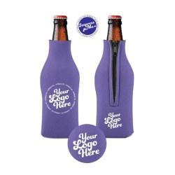 Custom Zipper Beer Bottle Coolers Etsy
