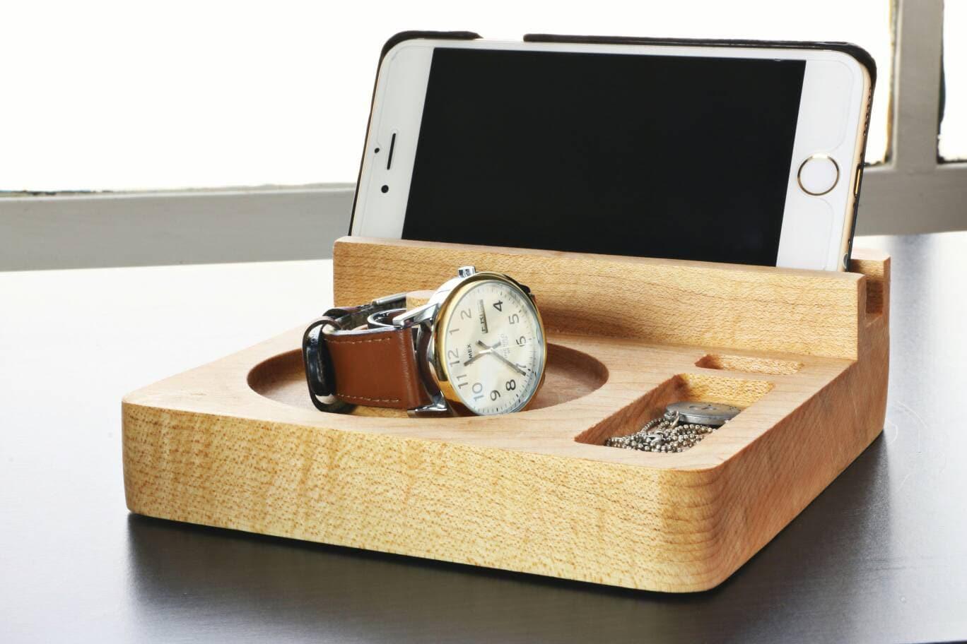 Minimalist Nightstand Organizer Nightstand Organizer Docking Station Iphone Docking Station Iphone Charging Station
