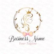 digital custom logo design hair