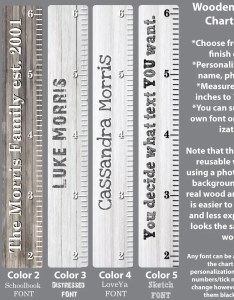 Image also wooden growth chart ruler height wall decals etsy rh