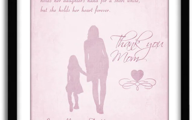 Items Similar To Personalized Mothers S Day Gift Birthday
