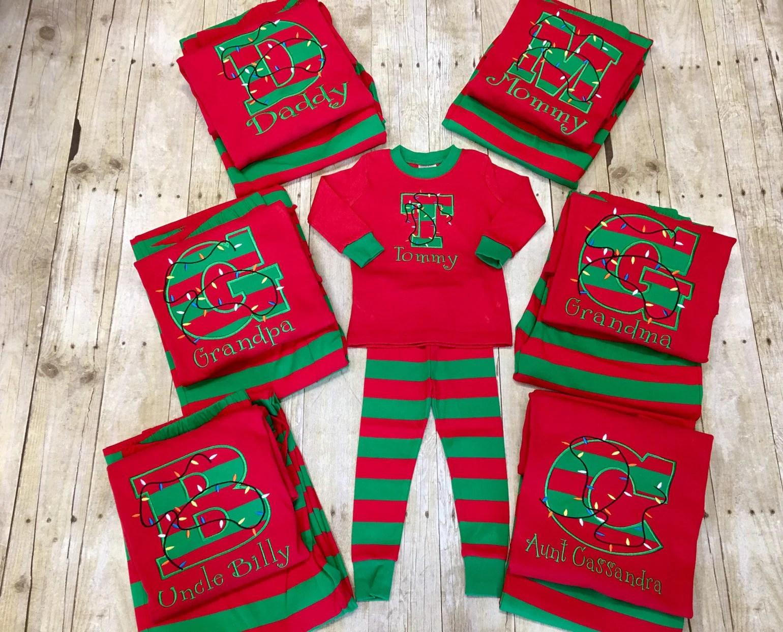 Christmas Pj.Newborn Toddler Matching Christmas Pajamas