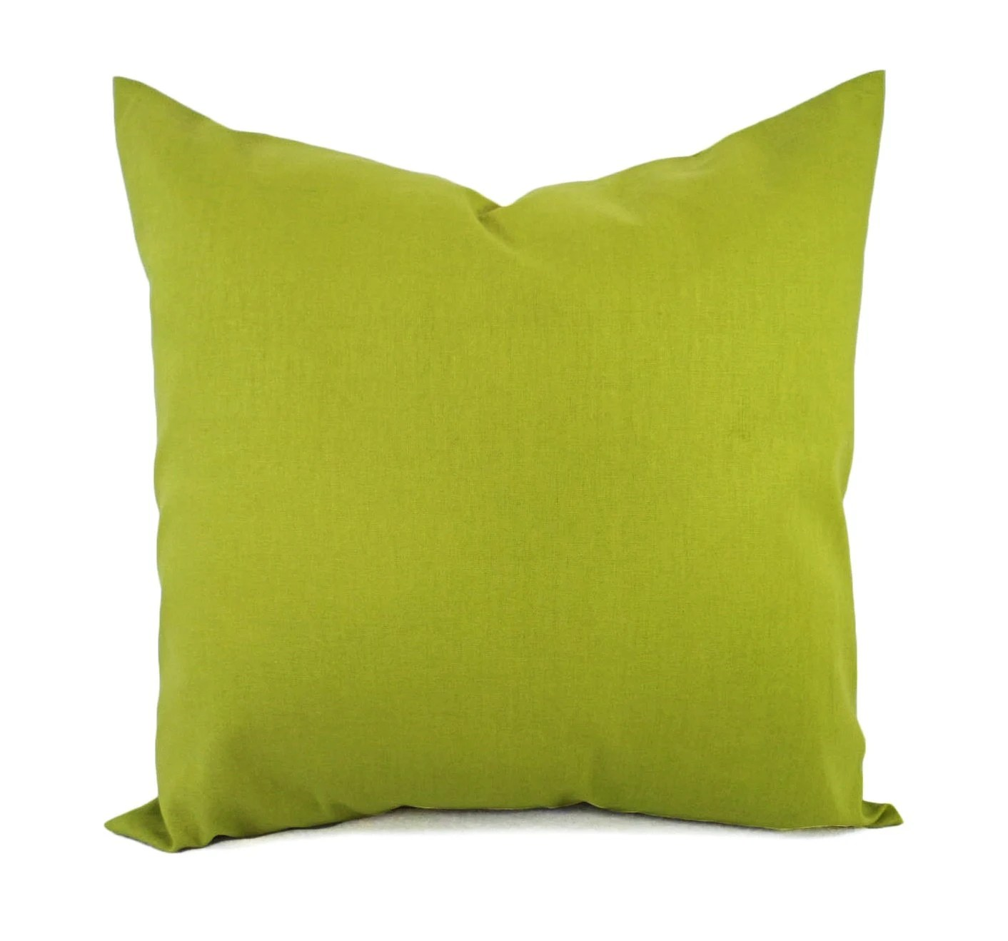 lime green pillows etsy
