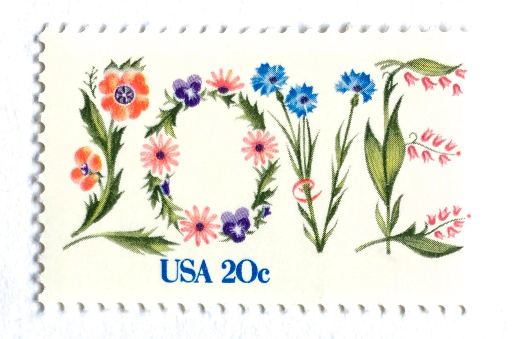 5 vintage love botanical