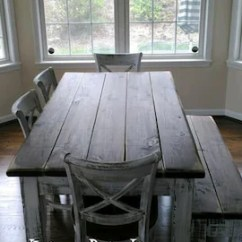 Rustic Farm Table And Chairs Outdoor Hanging Canada Farmhouse Etsy 6 Piece Set Wood House Kitchen Dining Bench Reclaimed Salvaged Custom Sizes Colors Solid Sturdy