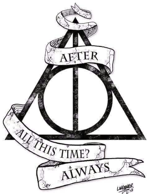 Harry Potter Always crochet graphgan or cross-stich chart