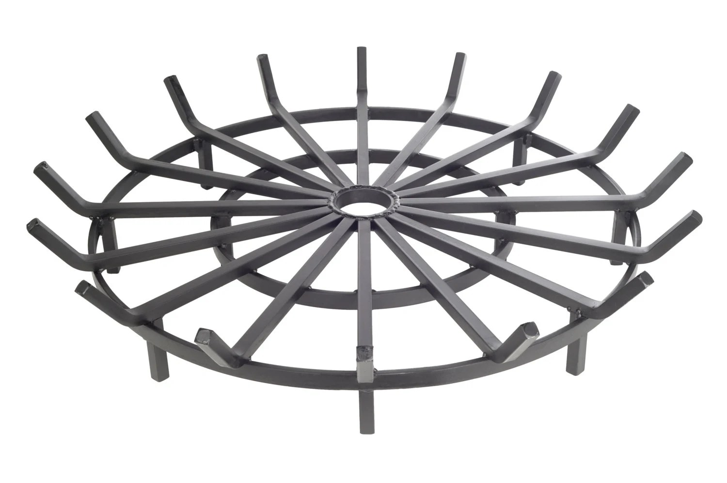 Super Heavy Duty 40 Inch Wagon Wheel Grate For Outdoor