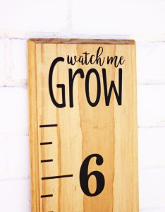 also growth chart ruler add onwatch me grow vinyl rh etsy