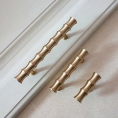 Kitchen Pulls Window Curtain Panels Hardware Etsy 2 5 3 4 Bamboo T Bar Knobs Dresser Drawer Brushed Gold Brass Cabinet Door Handles 65 83 86mm