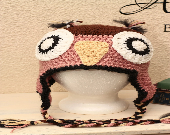 Adult Large Owl Hat