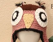 Adult Large Owl Hat