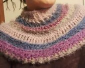Pattern for Mahana Sweater Cowl in 'Rose-Scented'