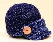 Newborn Brimmed Hat