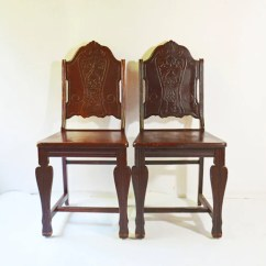 Antique Dining Chairs Value Cool For Room Wooden Side Solid Desk Etsy Image 0