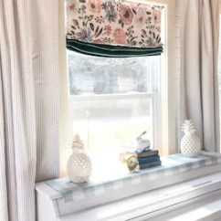 Kitchen Curtians Island Design Curtains Etsy 1 Pair Of Ticking Striped Classic Stripe Window Treatments Decor Curtain