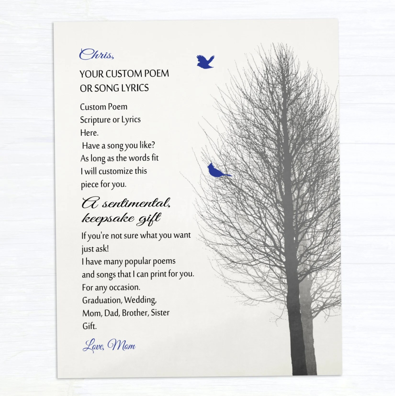 graduation gift personalized your