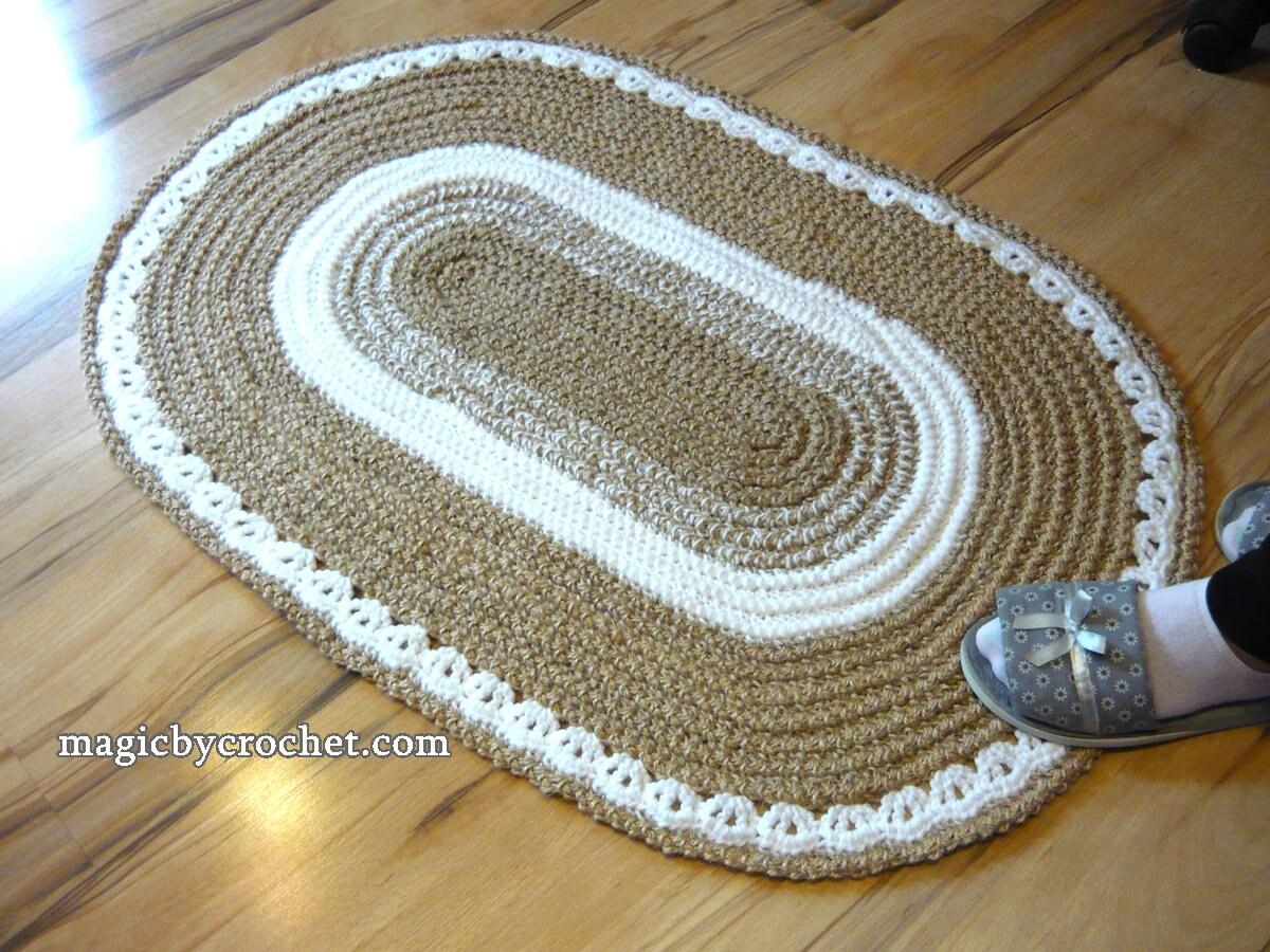 Teppiche Ovale Form Teppich Goa 110 X 180 Cm