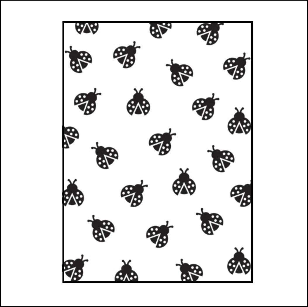 Embossing folder Ladybugs by Darice Poppy emboss stencil
