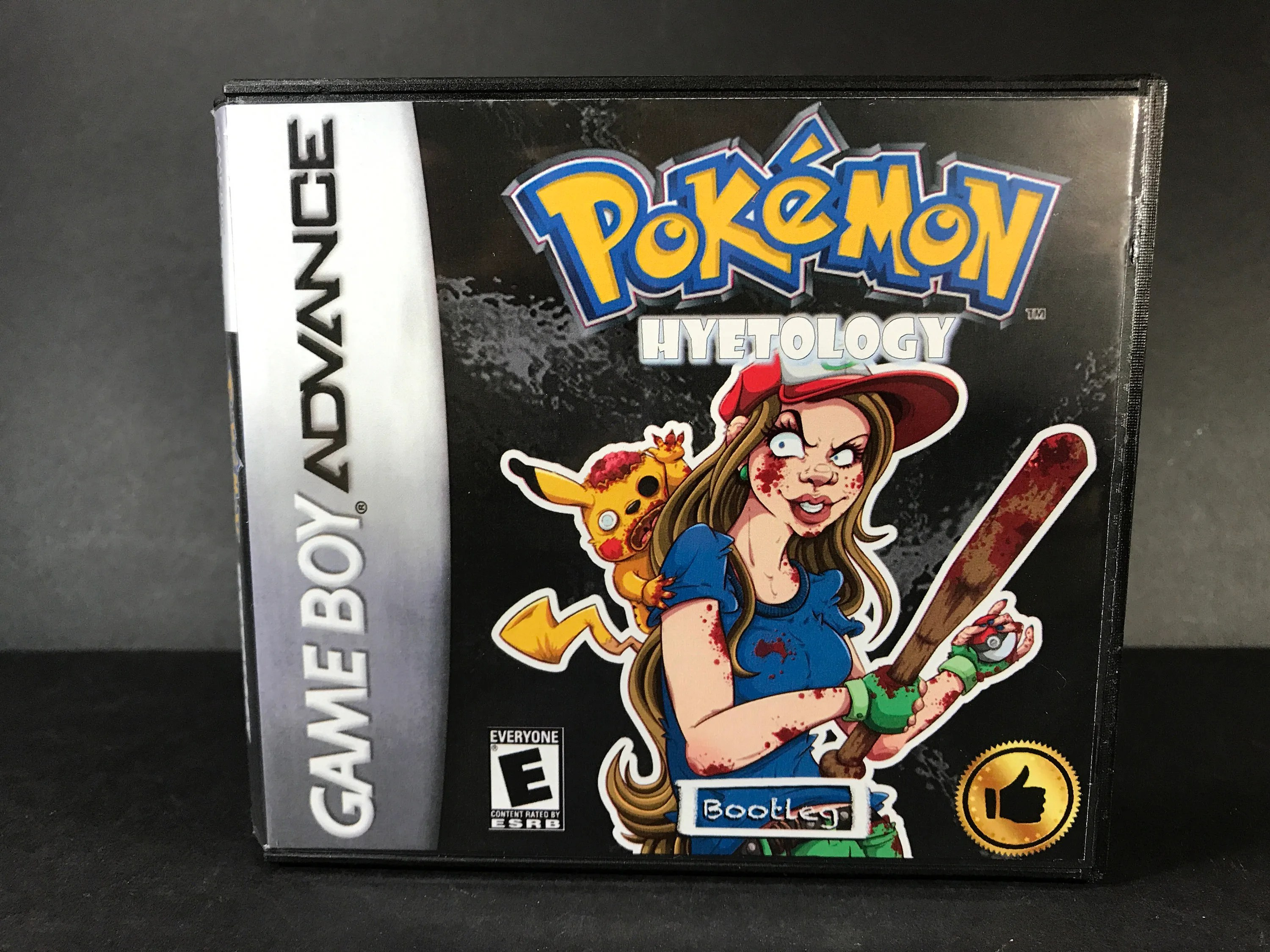Pokemon Outlaw Rom Hack Fan Made Game Gameboy Advance Gba