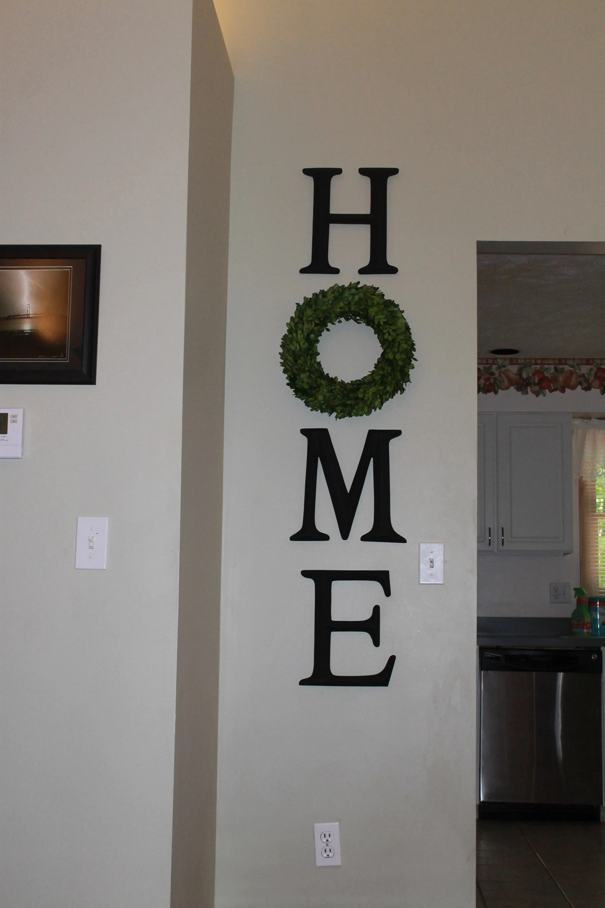 Home Sign Etsy