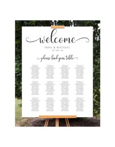 Image also wedding seating chart sign template etsy rh