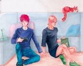 """Poster """"Gamer Boys"""""""