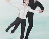 A5 Print Yuri on Ice