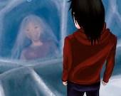 Awoken From Ice Manga mit Poster