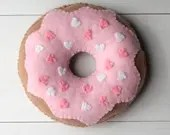 Felt Donuts, ONE ONLY, Choose Your Own for Pretend Play, Felt Food, Play Food, Tea Party, Sprinkles, Raspberry Strawberry Vanilla Chocolate