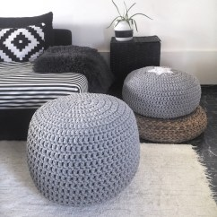 Toddler Bean Bag Chairs Ivory Chair Covers Spandex Kids Etsy Grey Large Hand Knit Pouf Nursery Footstool Ottoman Round Coffee Table Crochet Floor Pillow Seating Pouffe