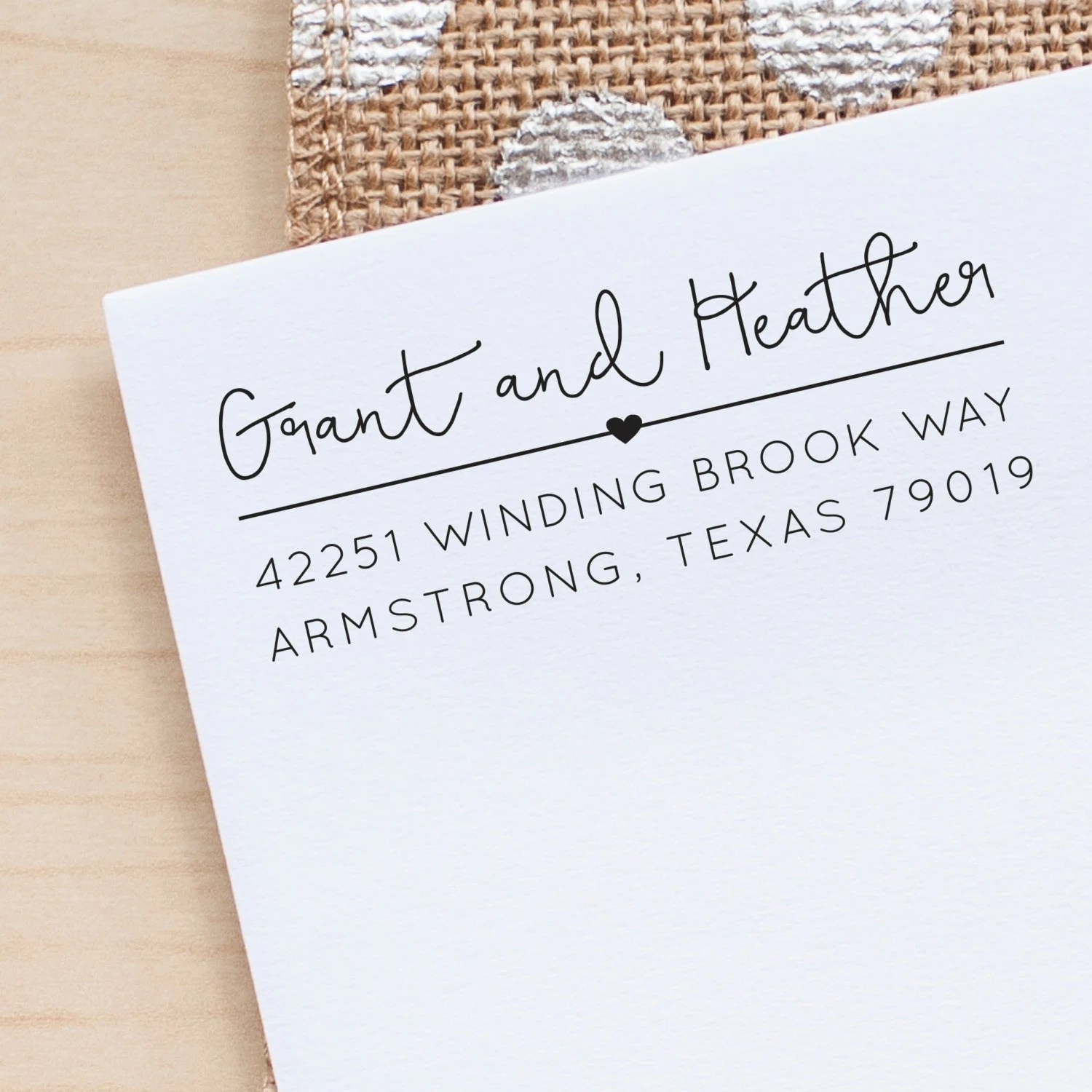 custom address stamps starboard