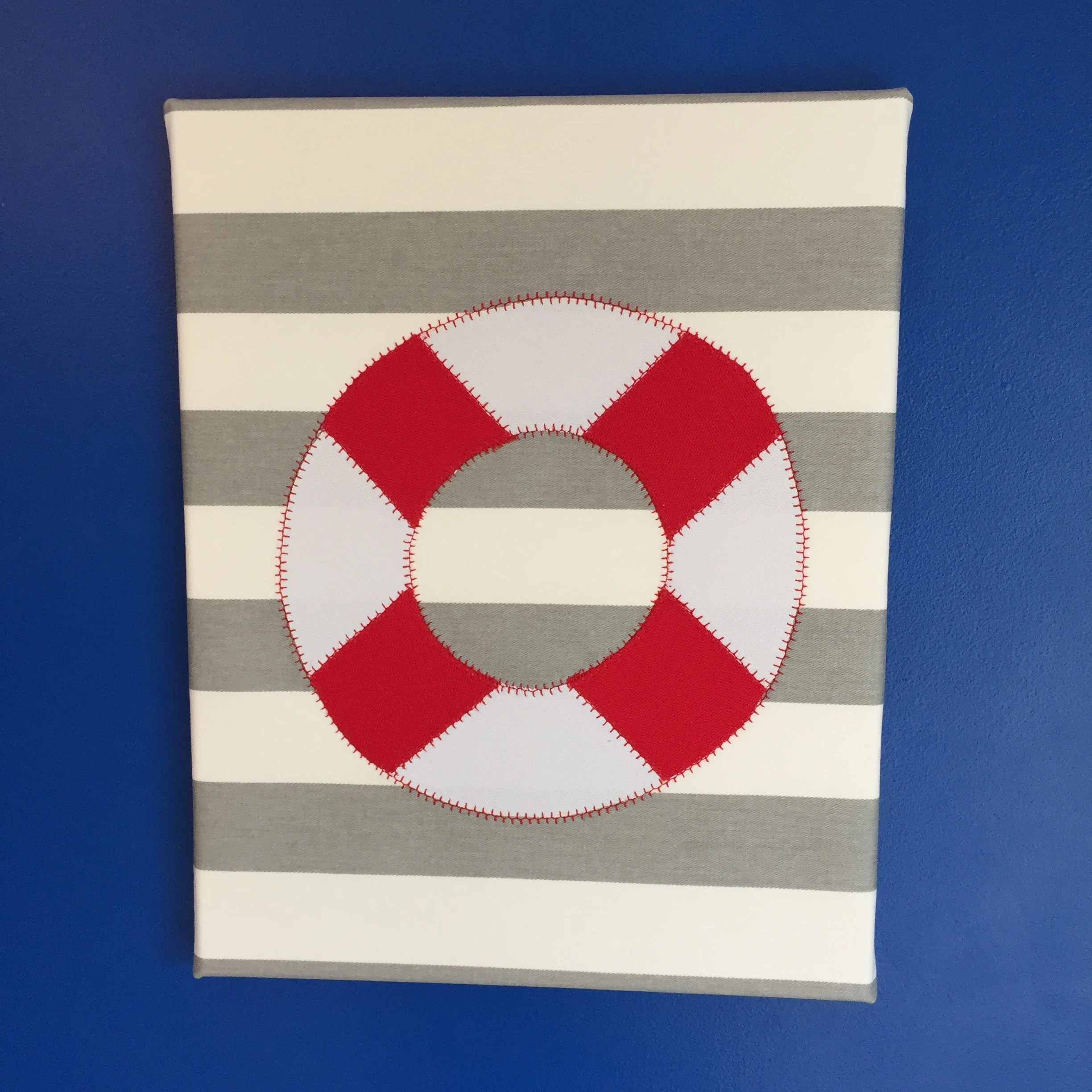 nautical life preserver wall