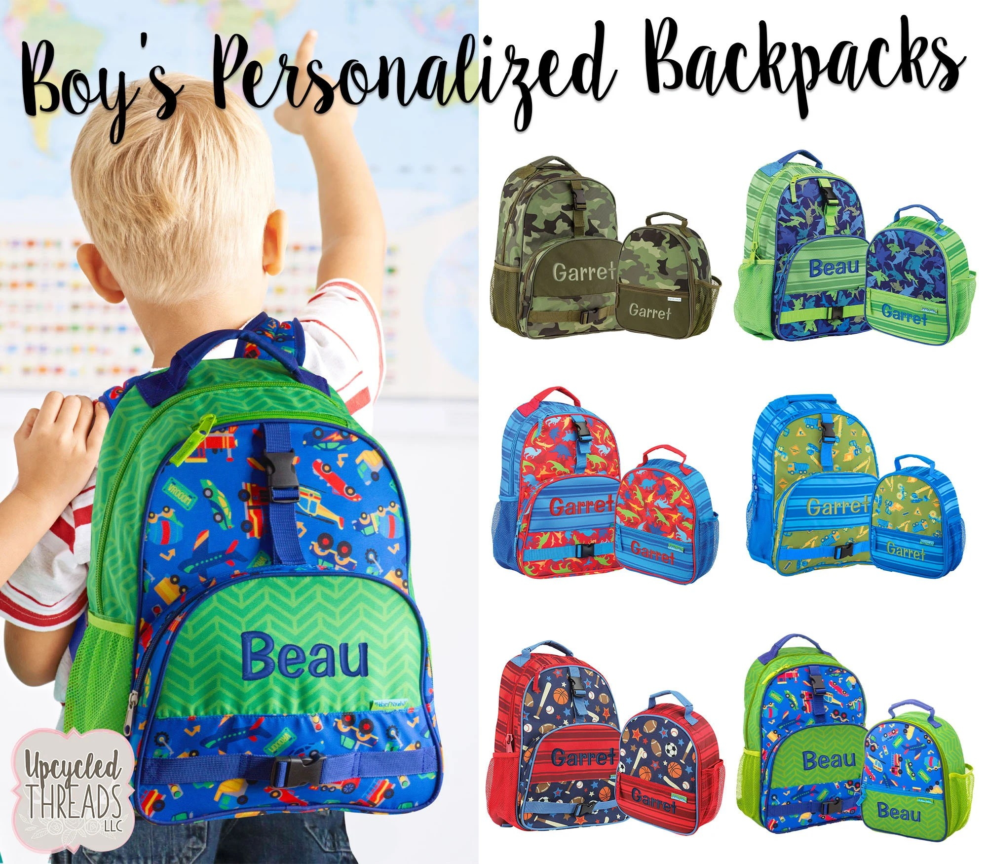 personalized kids backpack backpack
