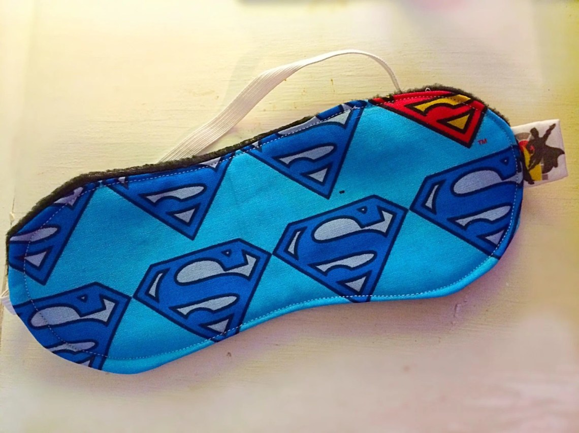Superman logo Sleep Mask...