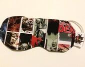 Walking Dead Sleep Mask, Zombie Panel Sleep Mask