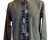 Star Wars necktie, Geeky tie, nerdy gift