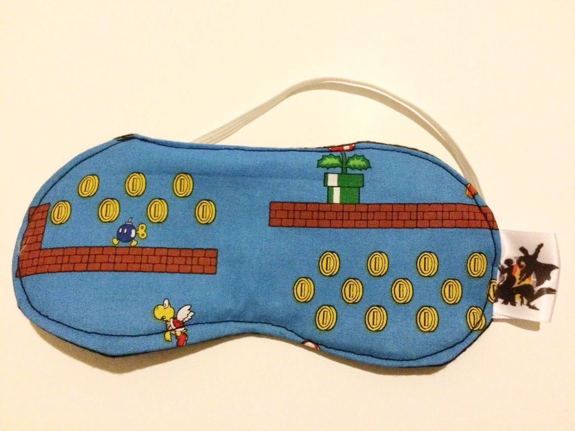Nintendo Super Mario Brothers Sleep Mask