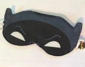 Batman Sleep Mask, Adam West Batman-inspired, Superhero Sleep Mask, Geeky Gift