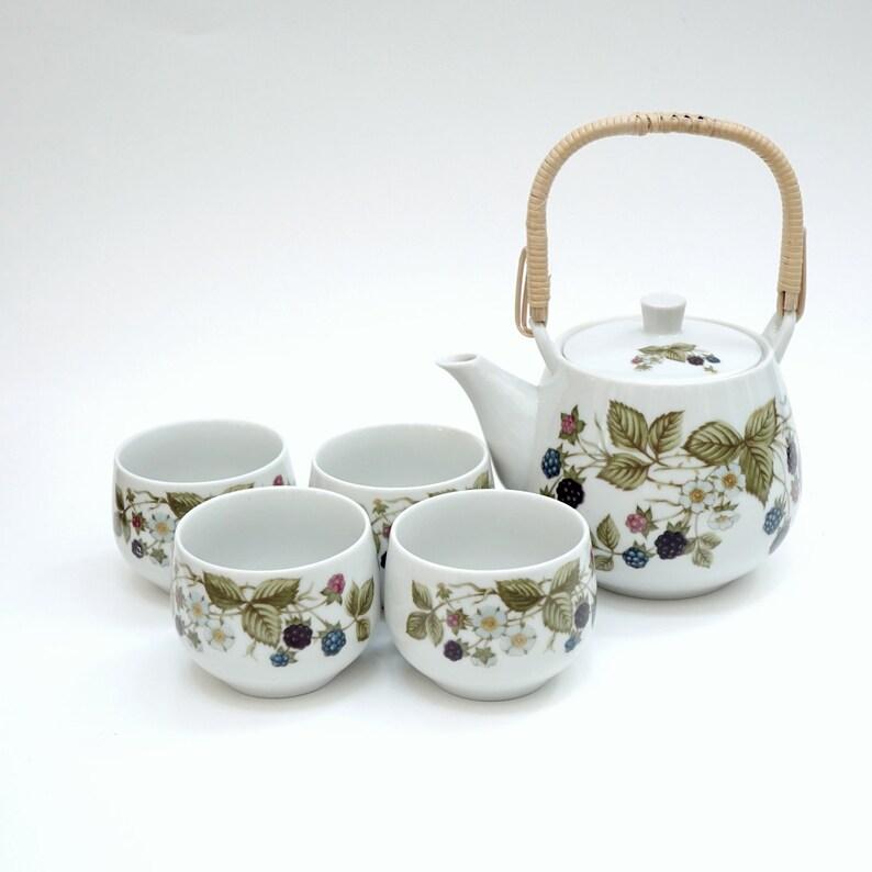 tea set berry san