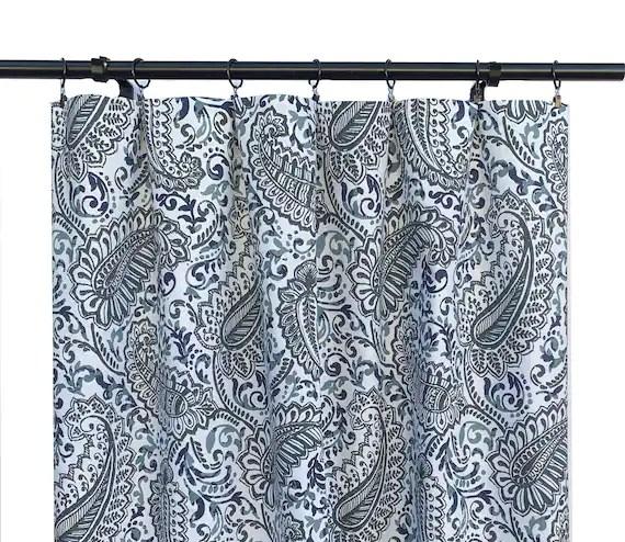 paisley curtains navy curtain 2 curtain panels curtains home decor premier prints curtain
