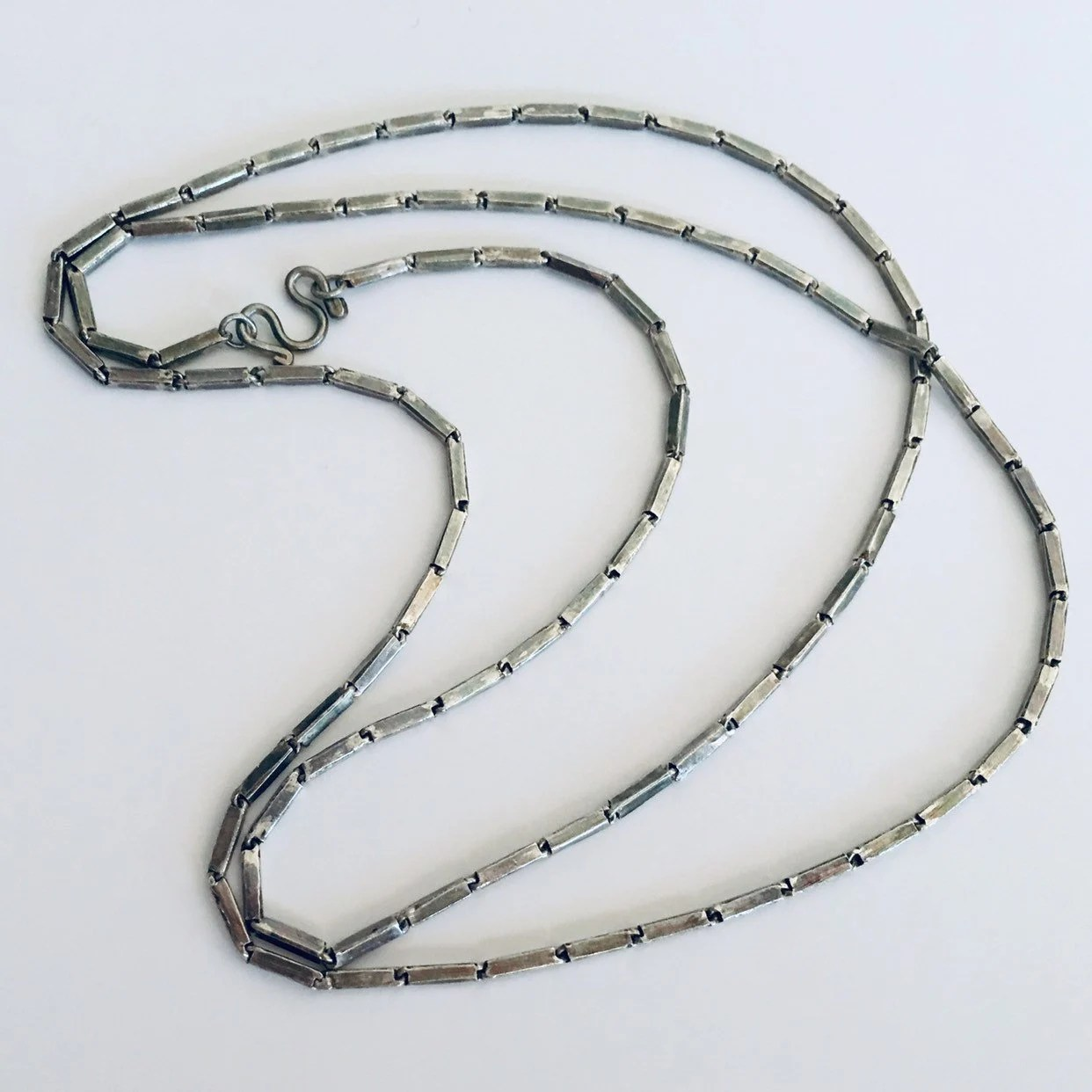 sterling silver necklace linked