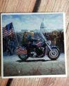 Sandstone Coaster President Motorcycle Dye Subblimation Etsy