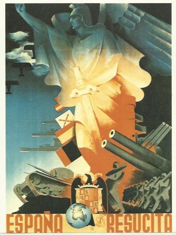 Affiche De Propagande Guerre Civile Espagnole : affiche, propagande, guerre, civile, espagnole, Espana, Resucita, Guerre, Civile, Espagnole, Guerra, Civil