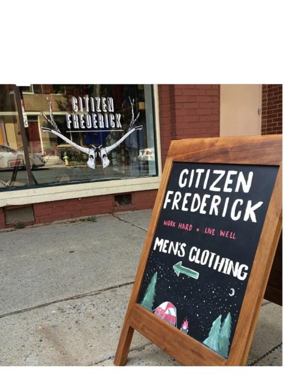 Sidewalk Sign Sandwich Board Live Edge Solid Walnut Chalkboard Easel Ready