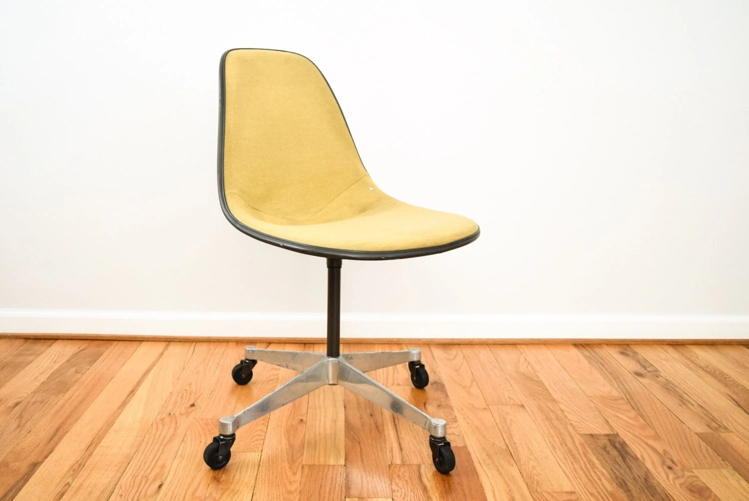 fiberglass shell chair wire chairs for sale eames authentic mid etsy image 0