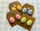 Easter Egg Stud Earrings | Easter Egg Jewelry